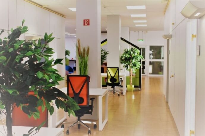 Flur in unserem Coworking-Space